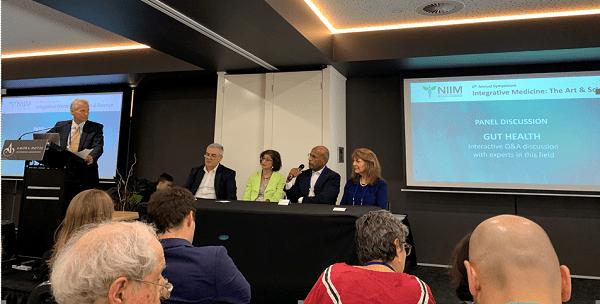 Vanita Dahia, Tim Ewer, Iggy Soosay, Christine Houghton, Luis Vitetta speaking at NIIM 6th Annual Symposium in Melbourne Australia
