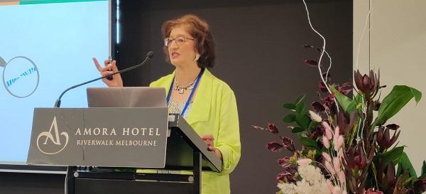 Vanita Dahia speaking at NIIM 6th Annual Symposium in Melbourne Australia