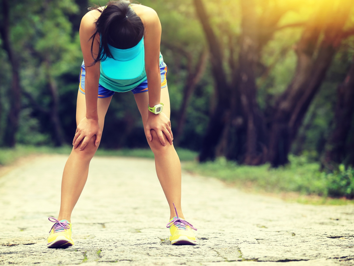 Exercise, Hot Flushes, Sweating and Iodine Deficiency