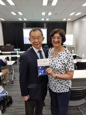 Dr Atsuo Yanagisawa MD PhD and Vanita Dahia