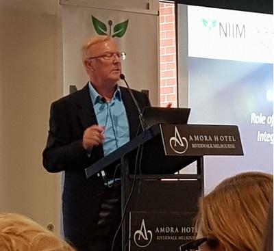 Gerald Quigley at NIIM